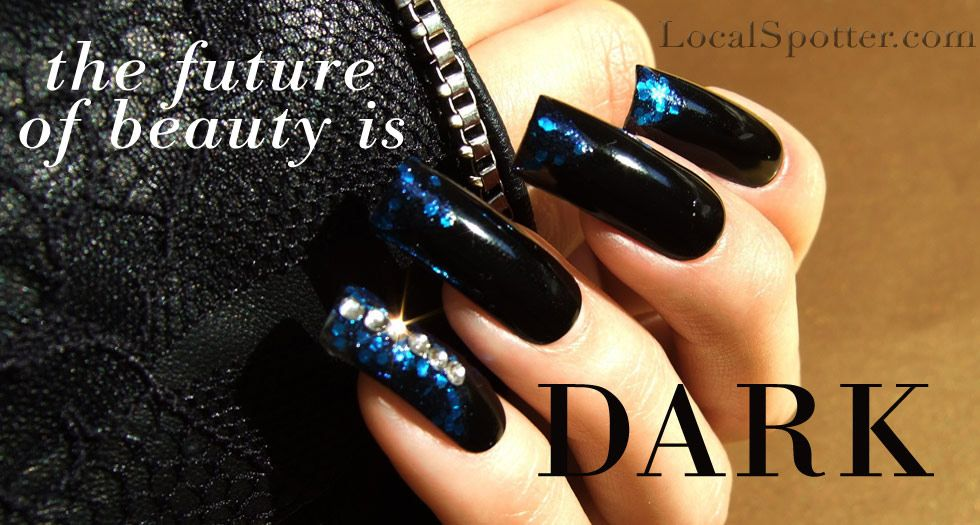 DIY Fall Nails 2012 Darkness Trend (Created with ORLY nail polish in ...