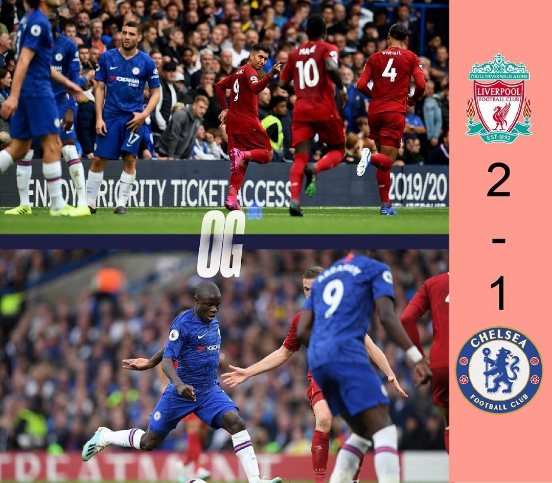 Other Results Today In The Premier League Liverpool Win Away At Chelsea 2 1 In A Close Game Liverpool Football Club Chelsea Football Club Liverpool Football