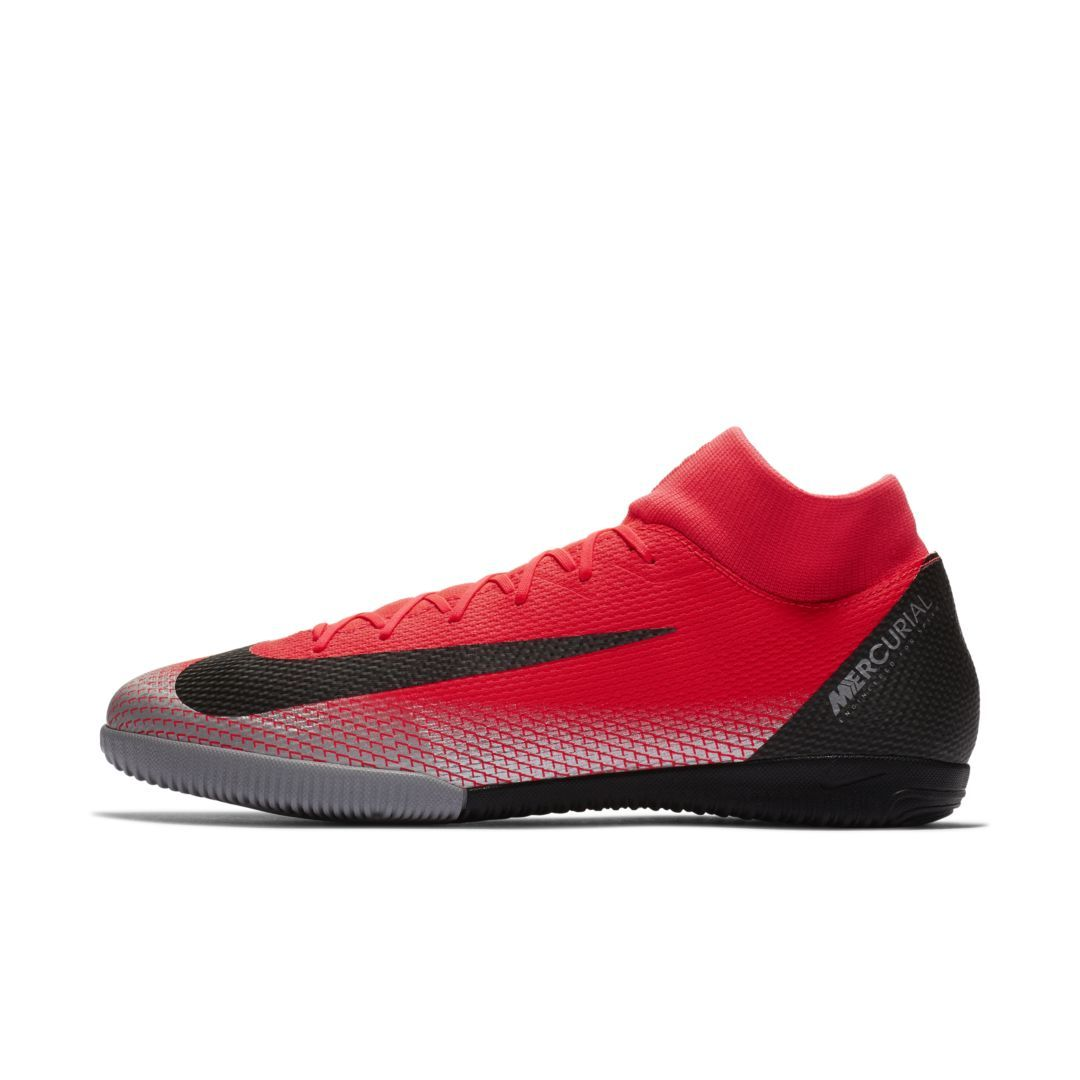 1285a3f6c9d Nike MercurialX Superfly VI Academy CR7 IC Indoor Court Soccer Shoe Size  10.5 (Bright Crimson)