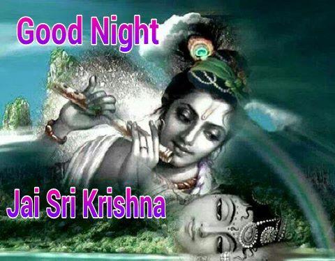 Good Night Sleep Peacefully Sweet Dreams Be Blessed Krishna