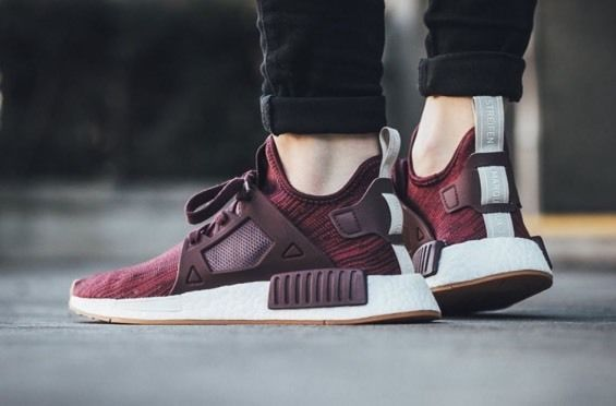 85847aa8ee6a4 Adidas Nmd Xr1 Maroon  Collegiate  Burgundy Womens Size 8 - Mens Size 7