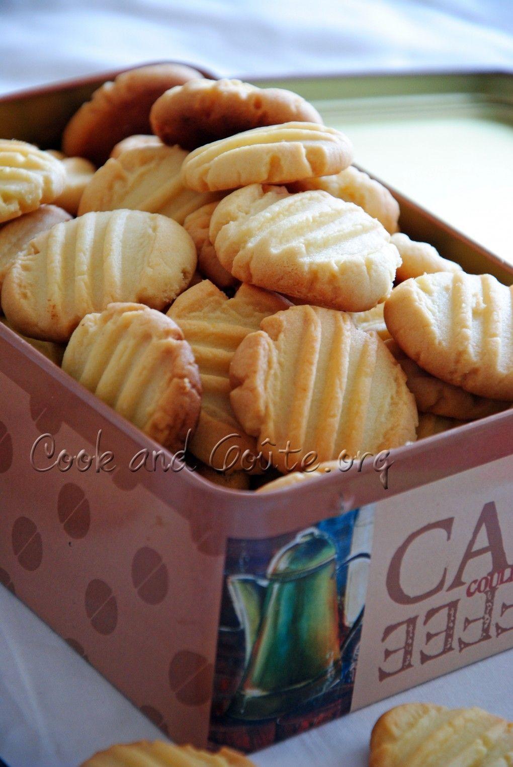 Sables A La Poudre D Amande Foods Biscuits Desserts Et Cookies