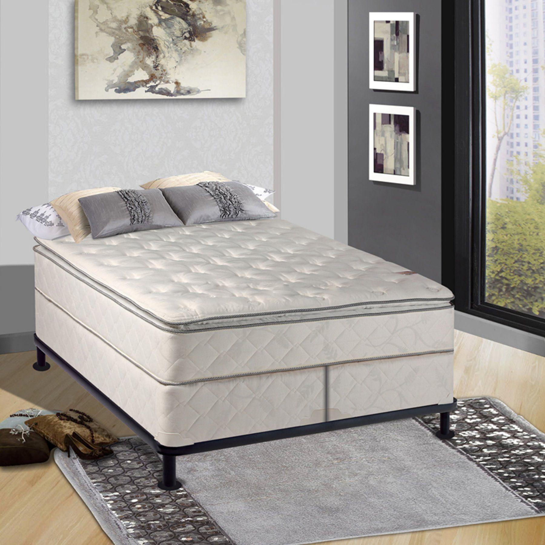 Continental Sleep Medium Plush 11 in. Pillowtop Orthopedic
