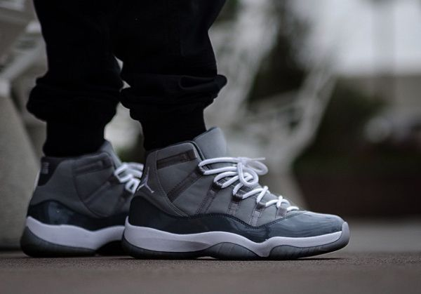 c2683a8247a2 Air Jordan 11 Cool Grey -  just silvz (2)