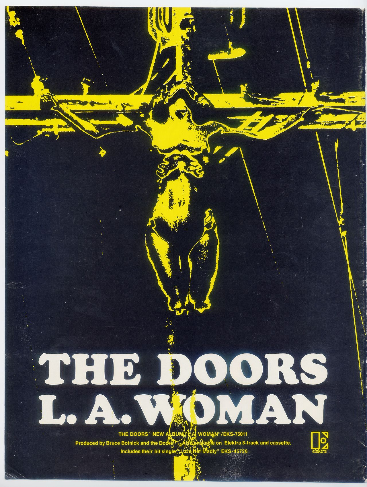 officialjimmorrison the doors 39 l a woman promo poster gig poster flyer pinterest gig. Black Bedroom Furniture Sets. Home Design Ideas