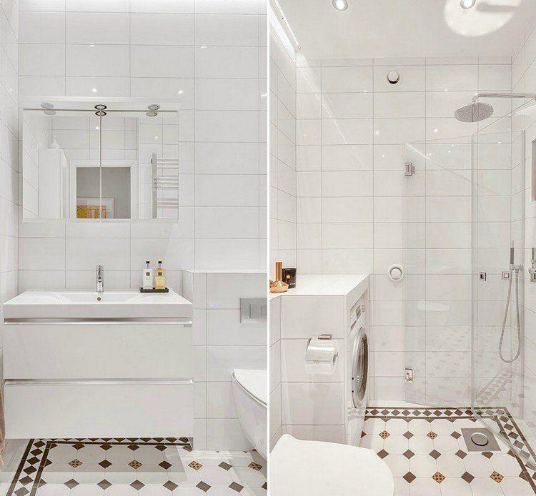 la petite salle de bains un grand d fi et un vrai plaisir pinterest petite salle petites. Black Bedroom Furniture Sets. Home Design Ideas