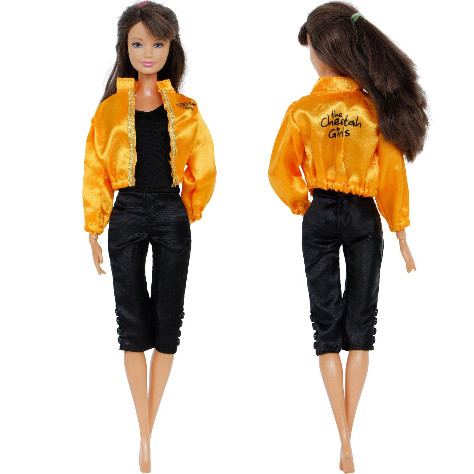 Handmade Sport Outfit Jumpsuit Jacket Coat Casual Clothes For Barbie Doll Dollhouse Accessories Christmas Gift Kid Toys #dollhouseaccessories
