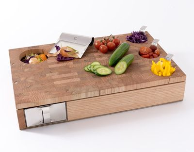 Genius cutting board from Curtis Stone