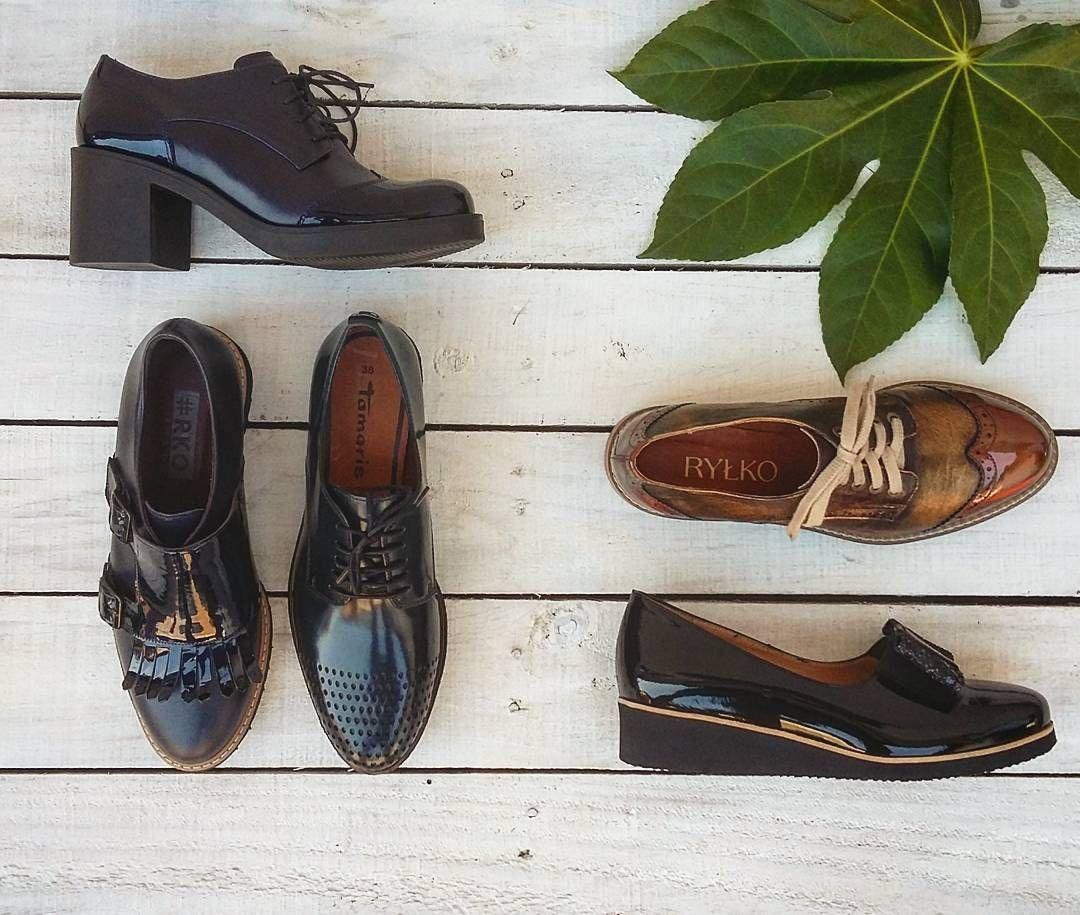 Polbuty Shopping Shoe Womens Womenshoes Leathers Darkblue Blackshoes Lakierki Skoralicowa Rko Tamarisshoes Sznur Dress Shoes Men Shoes Oxford Shoes