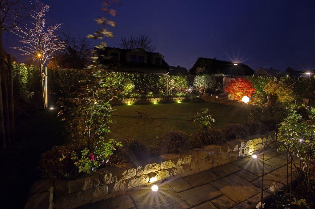 Emotionale Gartenbeleuchtung Im November Garteneindrucke