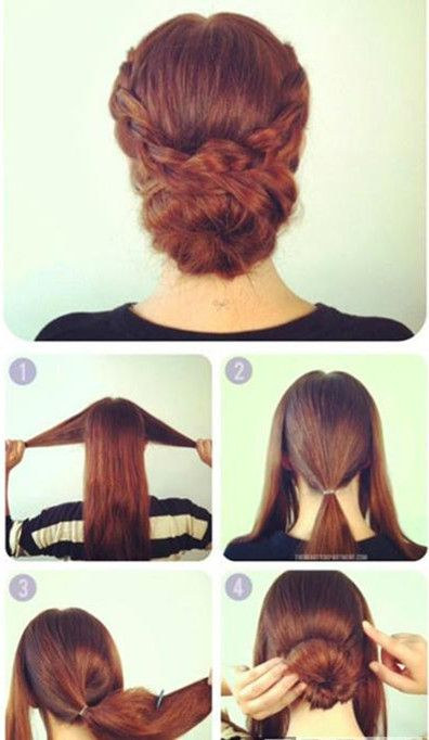 The Dignified Simple Updo Hairstyle Tutorial Fashion Home Easy Updo Hairstyles Updo Hairstyles Tutorials Hair Updos Tutorials