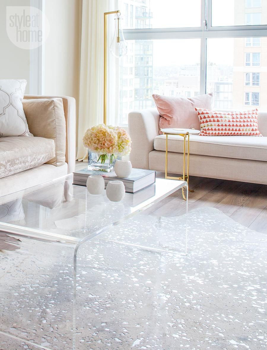Living Room Condo Decorating: Condo Tour: Elegant Eclectic Design