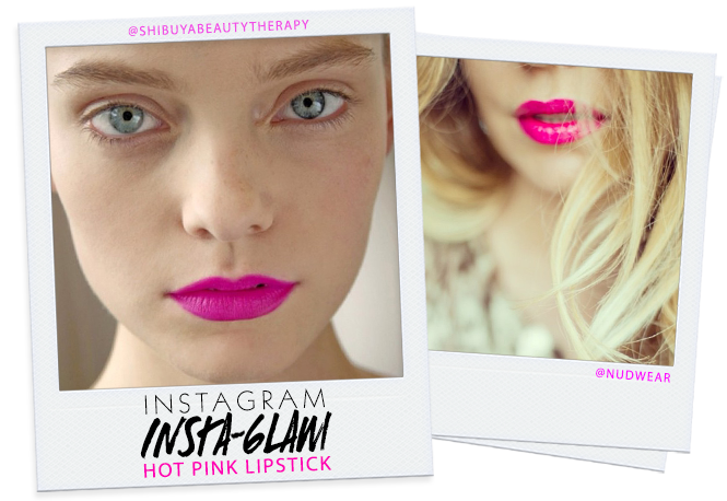 Instagram Insta-Glam: Hot PinkLipstick | Beauty High