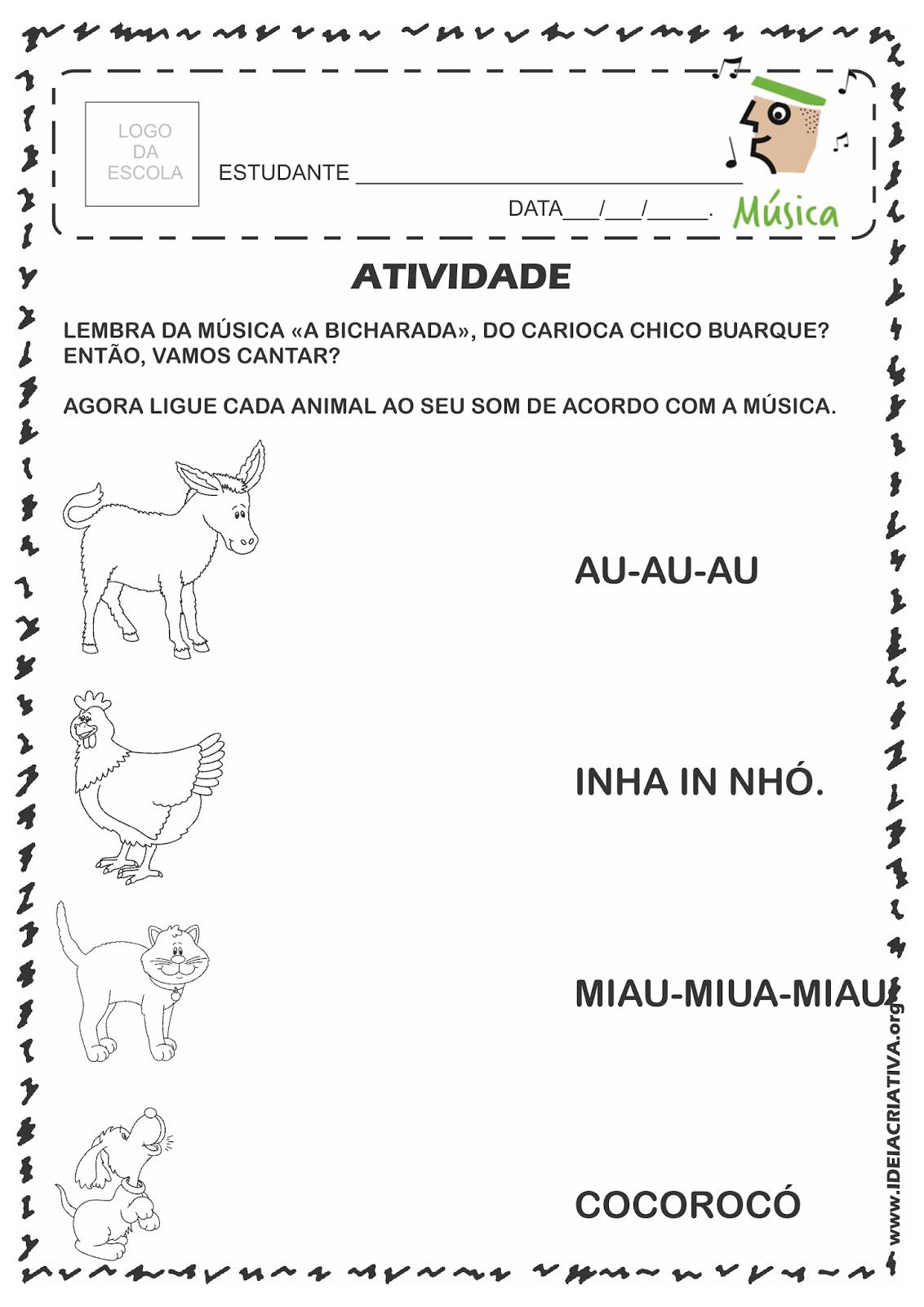 Atividade Rio 450 Anos Grandes Compositores Cariocas Chico Buarque ...