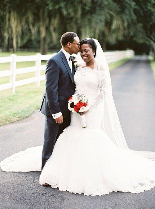 White African Lace Mermaid Long Sleeve Wedding Dress 2016 Off Shoulder Lace Applique Wedding Bridal Gowns vestidos de noiva MB16