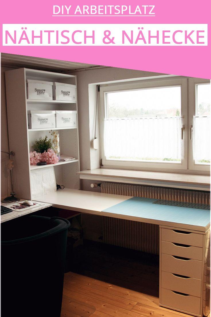mein neuer arbeitsplatz bloggen basteln n hen und mehr in 2018 changiereffekt blog diy. Black Bedroom Furniture Sets. Home Design Ideas