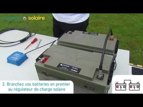 MyShop Solaire - Montage d\u0027un kit camping car 200W 12 ou 24V avec - Montage D Un Garage En Bois