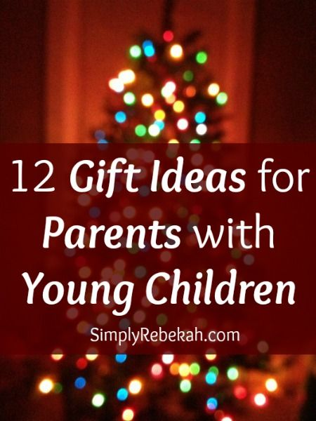 12 Gift Ideas For Parents With Young Children Simply Rebekah Parent Gifts Family Christmas Gifts Diy Gifts
