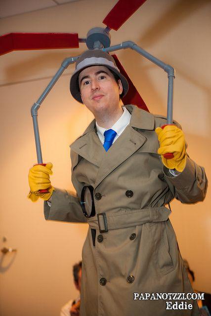 DragonCon 2013 - Saturday Inspector gadget, Cosplay and Comic con - mens halloween costume ideas 2013