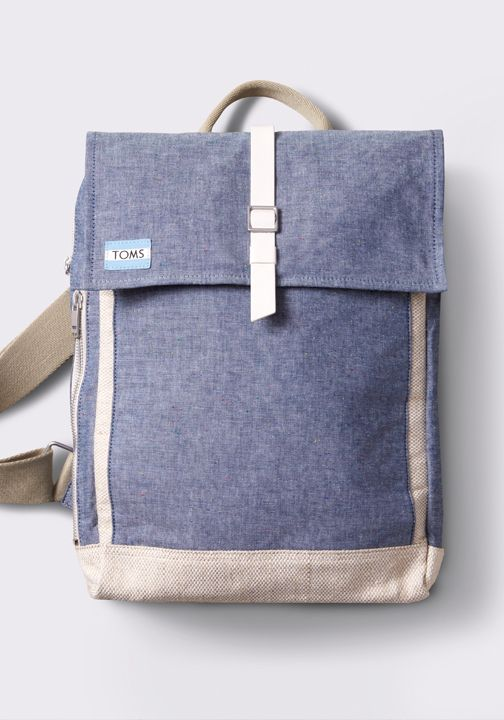 819fc06e053 The TOMS Trekker Backpack gives back in a big way. With every bag you  purchase