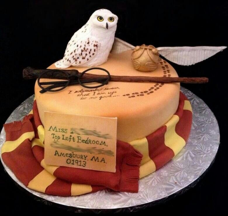 Harry Potter cakes Pinterest Harry potter Cake and Harry