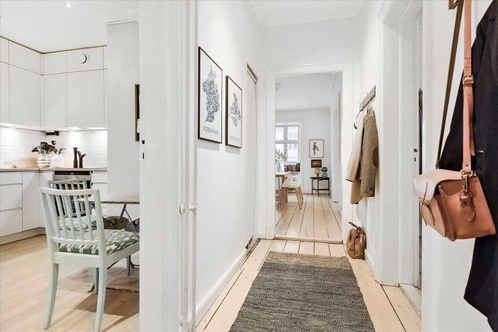 Piso danés moderno, despejado y hogareño Flats and Interiors