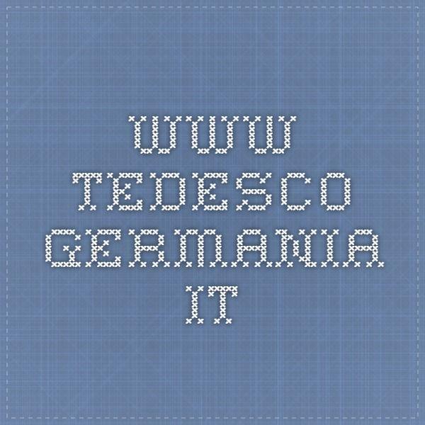 www.tedesco-germania.it