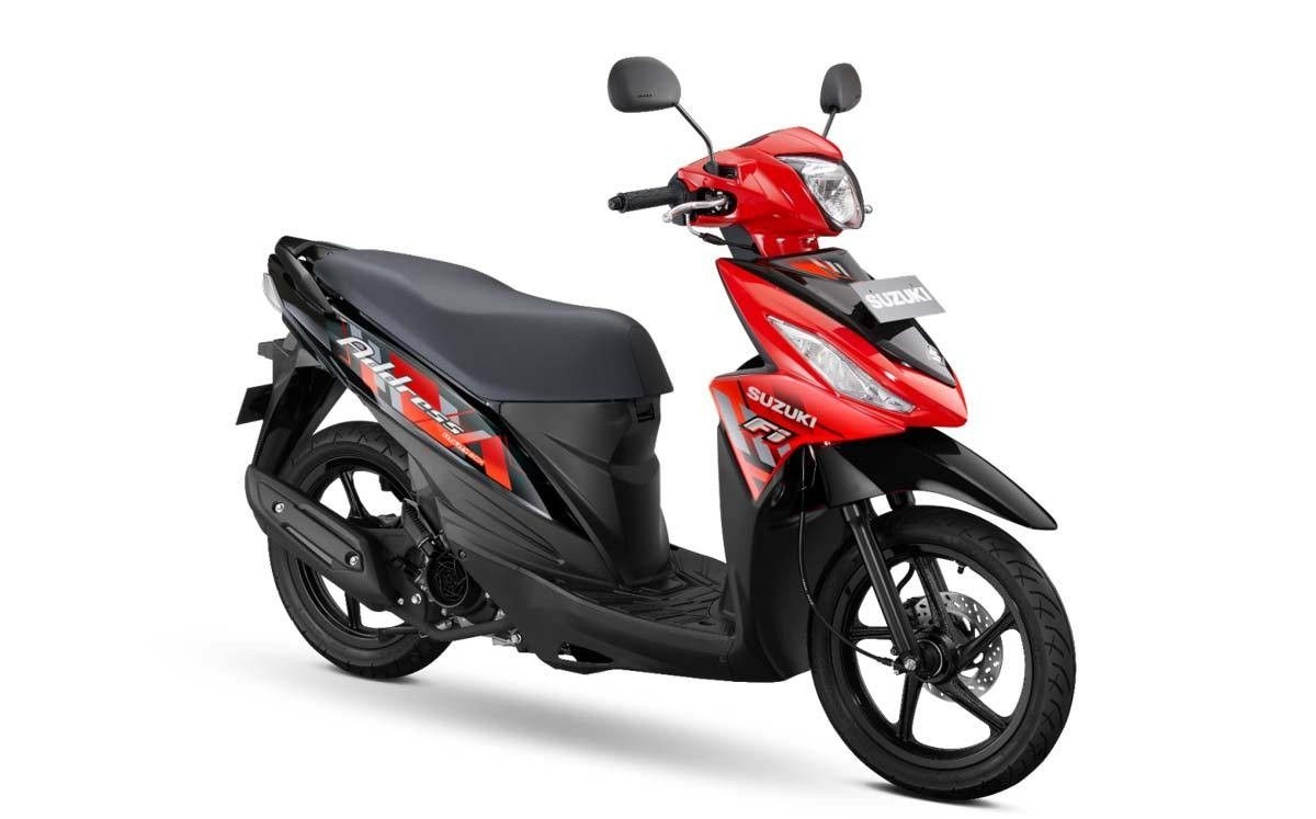 Suzuki Address 2021 Di 2020 Sepeda Motor Sepeda Motor