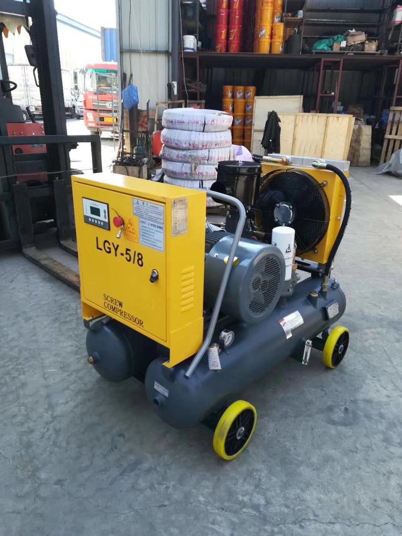 Integrated air compressor for auto repair shop ! Auto