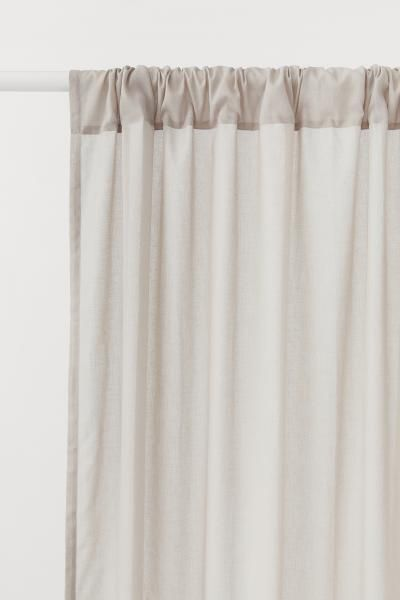 2 Pack Curtain Lengths In 2019 Studio Bedroom Curtain Length
