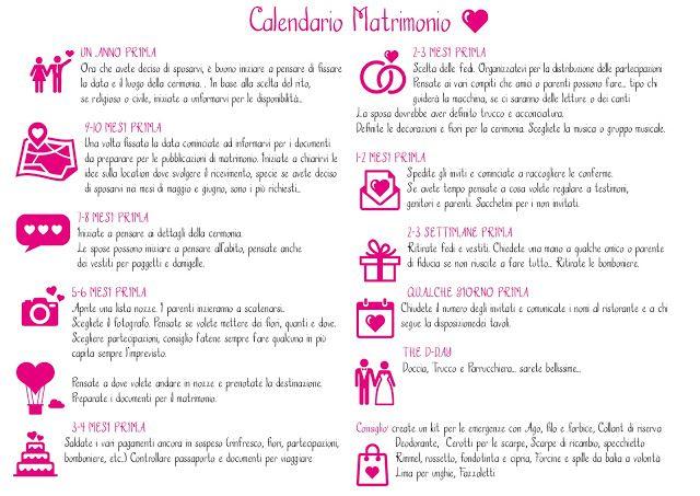 Calendario Per Organizzare Il Vostro Matrimonio Consigli Sul Matrimonio Intrattenimento Matrimonio Matrimonio