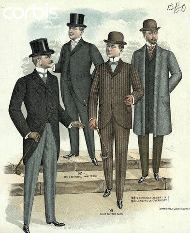 Illus Mens Fashions Of The 1880S-1890S  89af28450db4