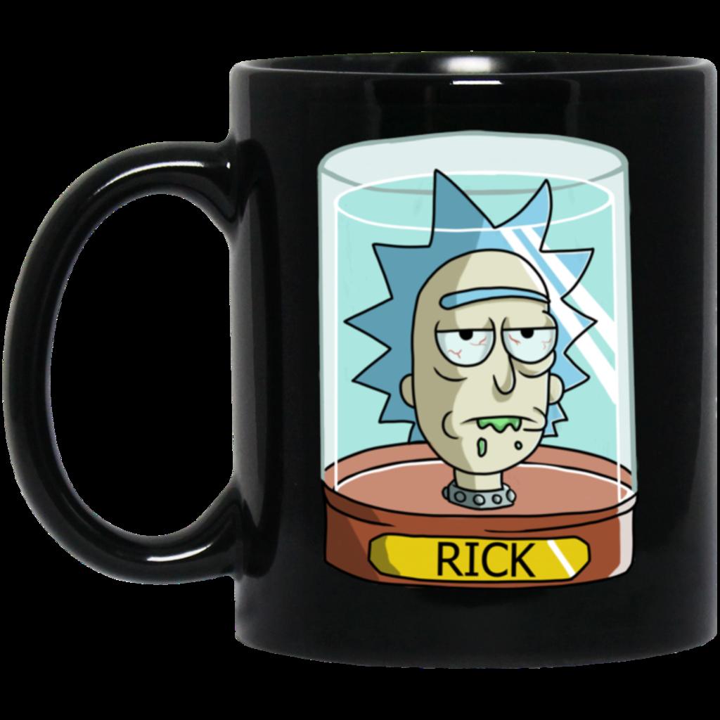 Rick Jar Head Coffee Mug Tea Mug