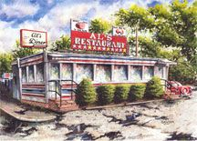 History Of Diners And Drive Ins Although Absurd In A Couple Of Pages To Attempt A History Of The American Diner Let Alone American Diner Diner Local Diners