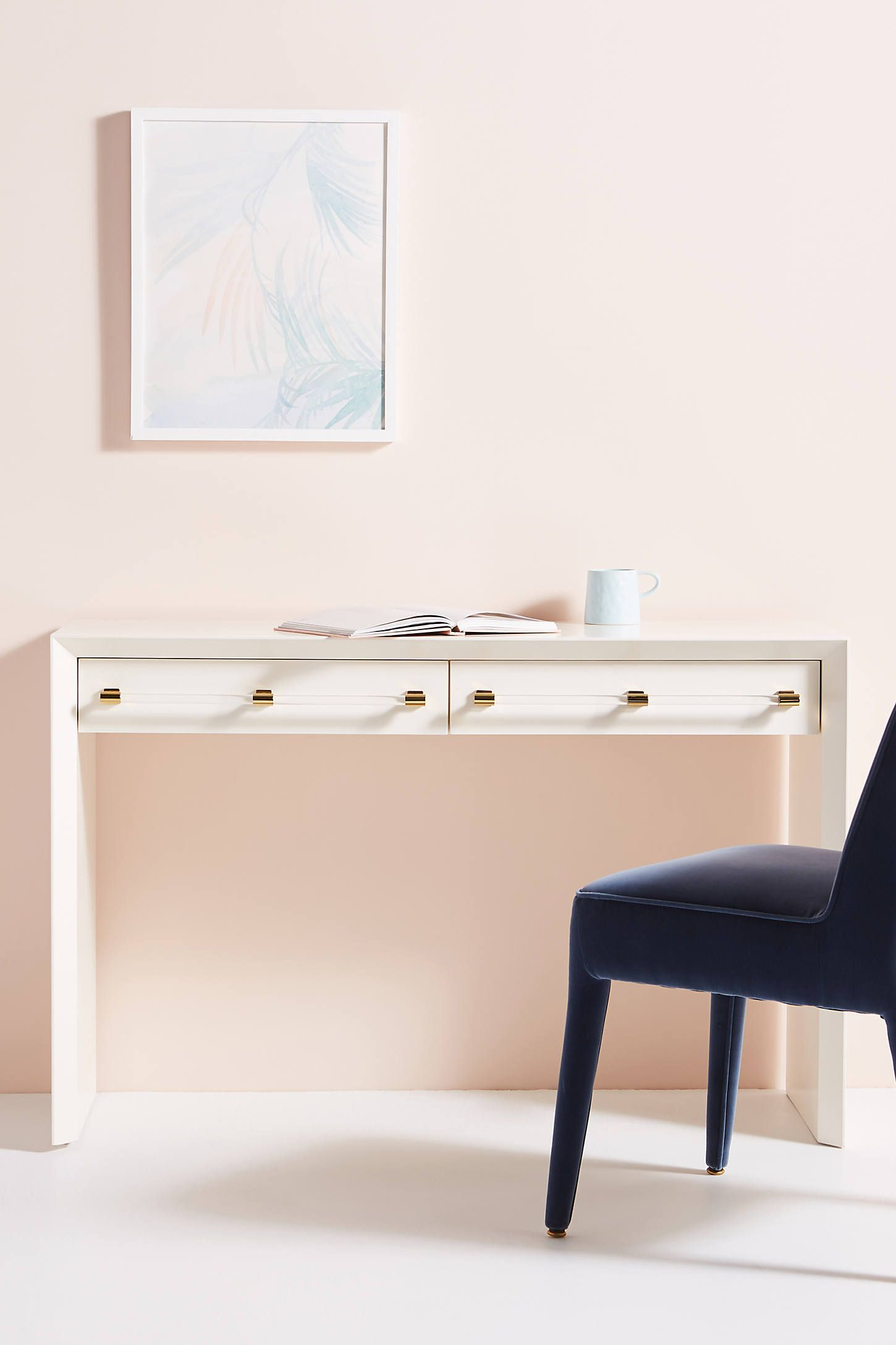 Merriton Desk by Anthropologie in White Size: All, Tables ...