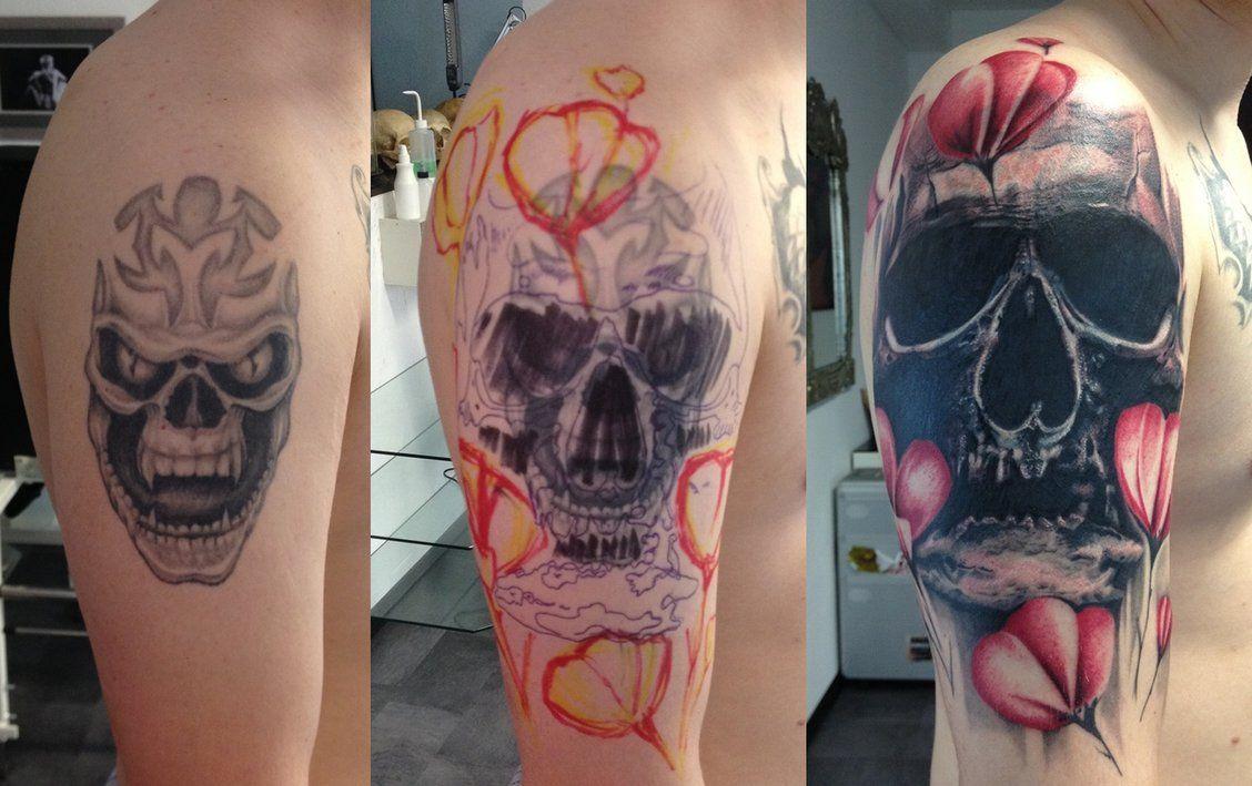 Cover Up Tattoo Ideas Skull Cover Up Tattoos Skullspiration Com Skull Designs Art Cover Up Tattoos For Men Cover Up Tattoos Tattoos For Guys