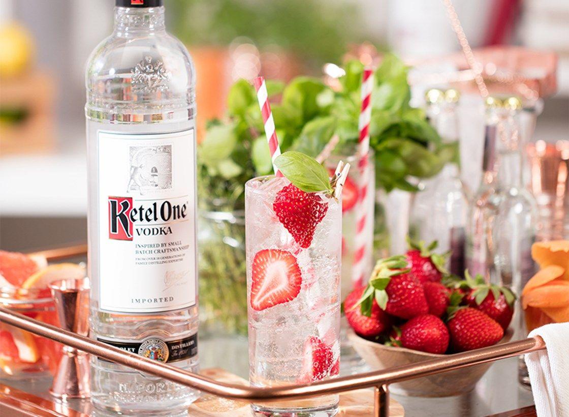 Nude Vodka Soda Strawberry Kiwi