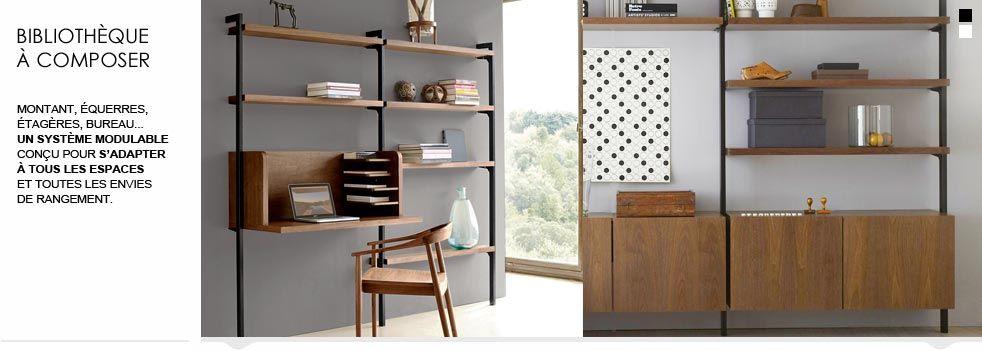 Bibliotheque A Composer Meuble La Redoute Decoration Interieure Decoration Maison Maison Style