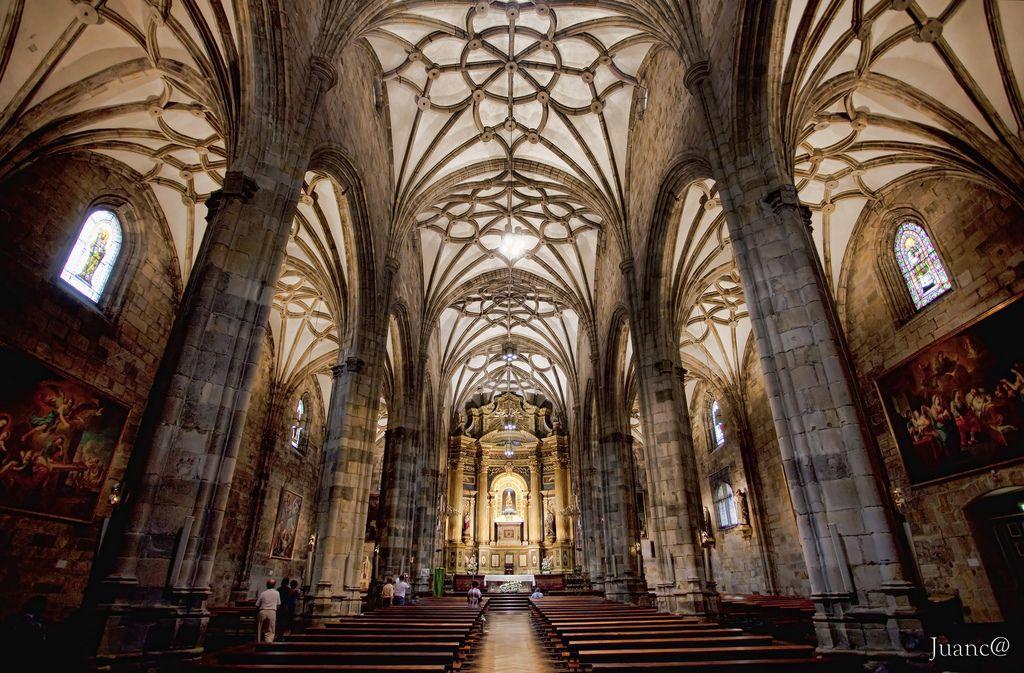 Basílica de Nuestra Señora de Begoña (con imágenes) | Bilbao, La ...
