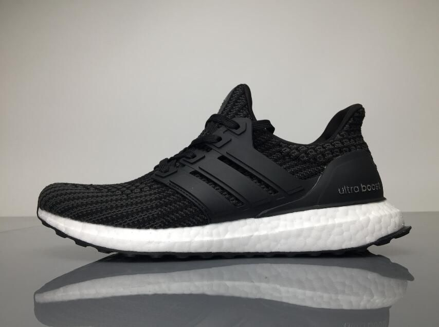 5bece3e6d Adidas Ultra Boost 4.0 BB6149 Black White Real Boost for Sale 02 ...