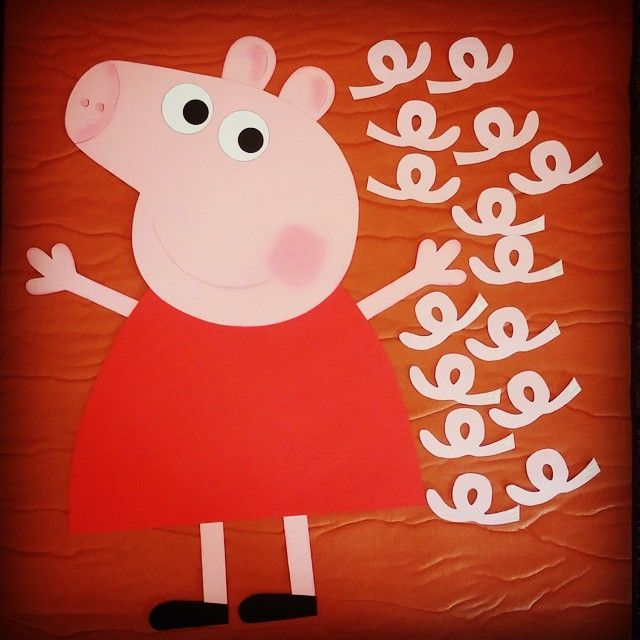 Pin The Tail On Peppa Pig Birthday Party
