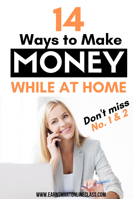 Fast Ways To Make Money Online