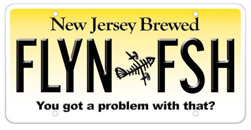 Flyn Fsh License Plate New Jersey License Plate New Jersey