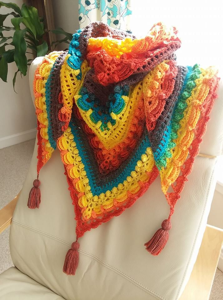 Lost in Time Shawl - Mandala yarn thunderbird | Prayer shawls Shawls ...