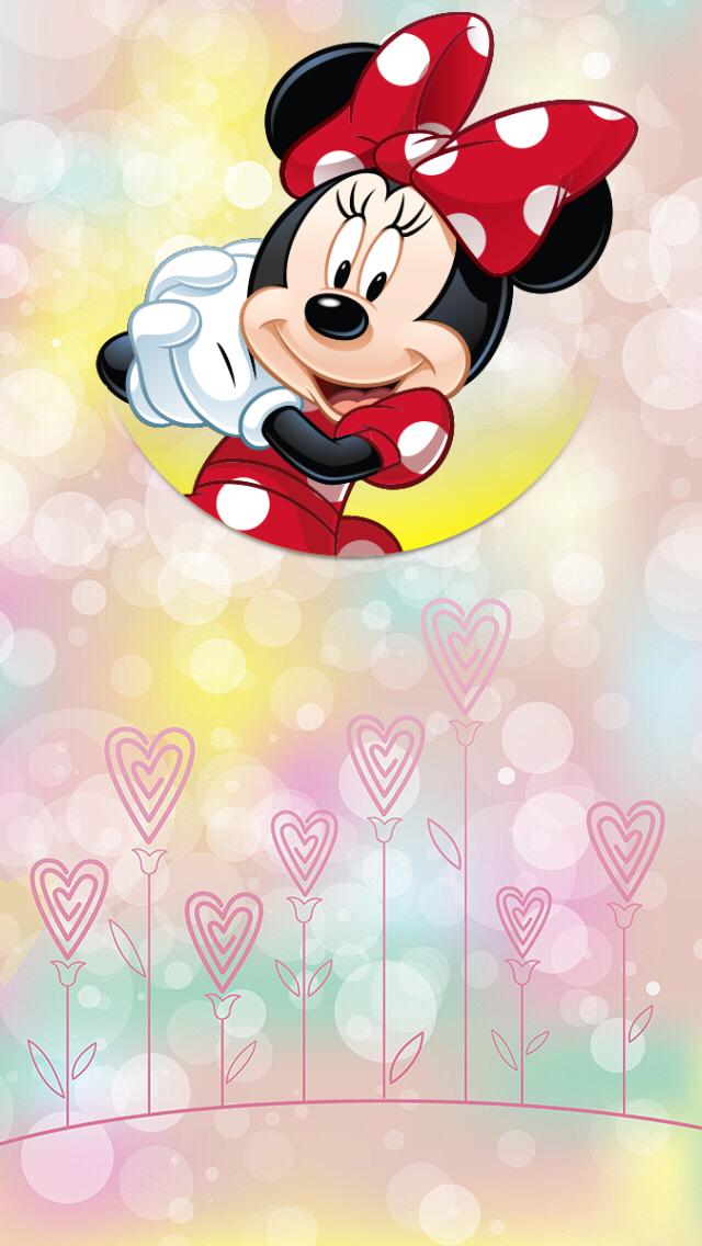 Oboi Iphone Wallpapers Mickey Mouse ม นน เมาส วอลเปเปอร ด สน ย การ ต น