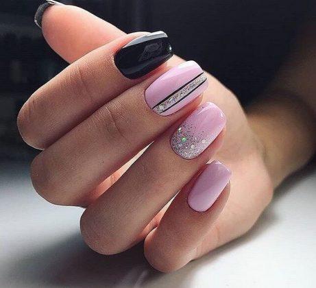 Super Winter Manicure 2019-2020, Trendy Winter Nail Art Design ZX02