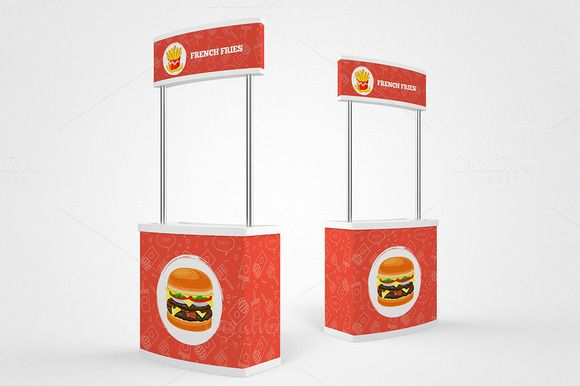 Stand Promotion Mock-Up by AlkStudio on @creativework247
