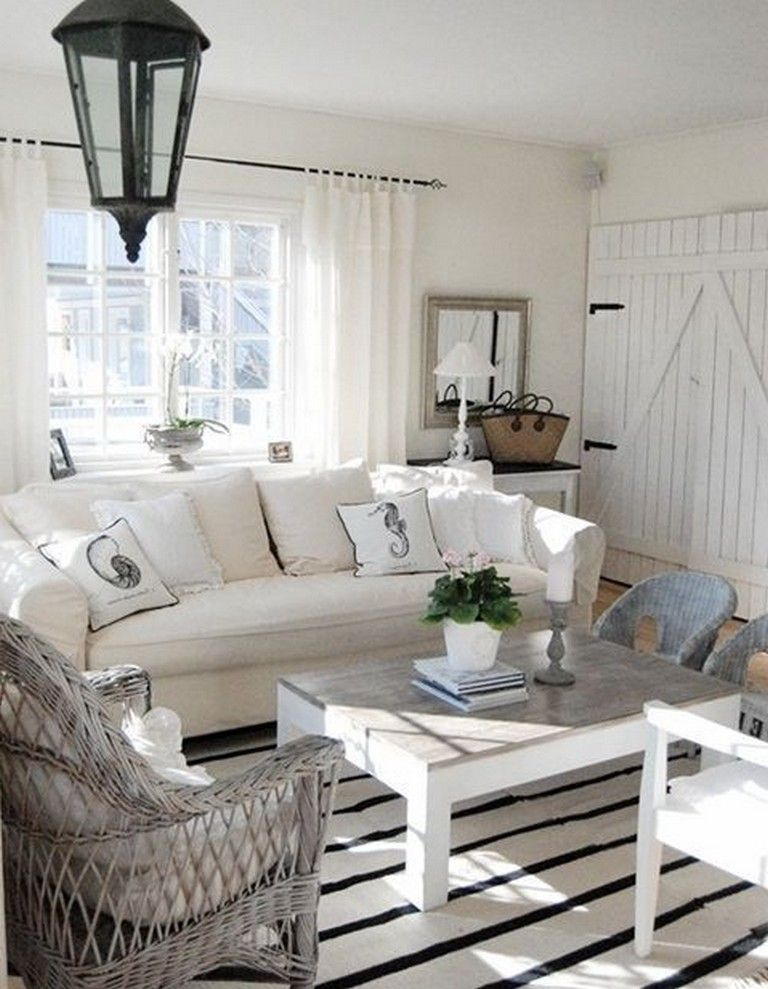 Elegant Home That Abounds With Beach House Decor Ideas: 42 Elegant Cottage Decor Beachy Ideas For Live Better (With Images)