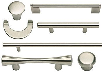 Atlas Homewares Stainless Steel (Brushed) Cabinet Hardware Collection   The  Hardware Hut