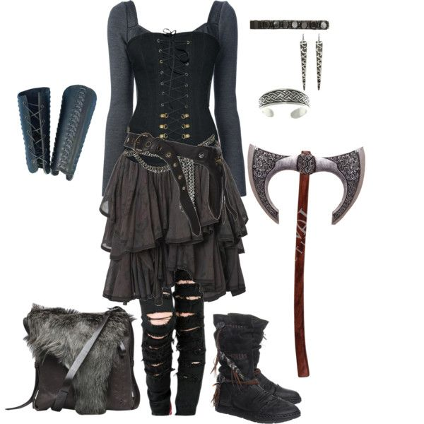 Viking by gone-girl on Polyvore featuring Dolceu0026Gabbana AllSaints Henry Beguelin Carolina ...